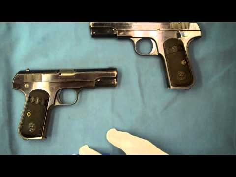 Colt's Model M 1903 1908 Pocket Hammerless