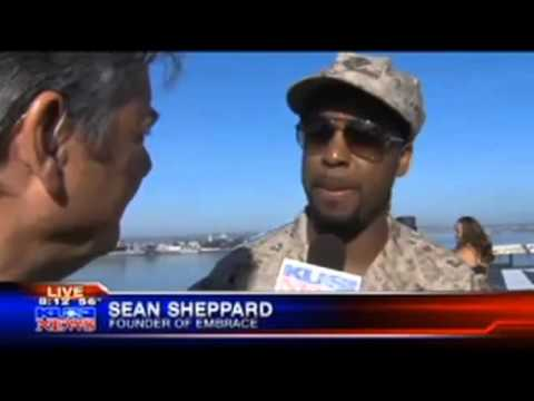 San Diego KUSI live coverage of EX 4 Vets III Part 1