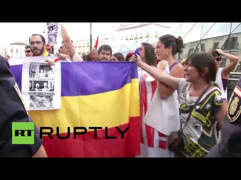 Spain: Anti-monarchy protests grip central Madrid