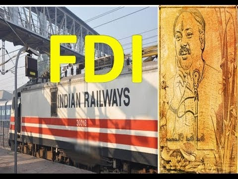 FDI in INDIAN Railway Exposed By Rajiv Dixit
