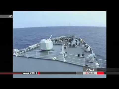► US navy ship avoids collision with China warship