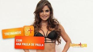 Ana Paula de Paula - Treino de Costas