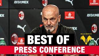 Best Of Pioli Press Conference | #MilanVerona