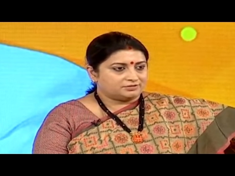 Special scheme related to Nite Ware to start in next 1.5months, says Smriti Irani
