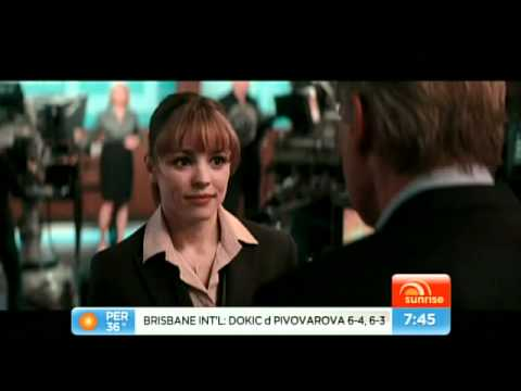 Morning Glory - Harrison Ford and Rachel McAdams interview