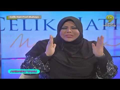 Celik Hati Prof Muhaya Bersama Sharifah Aini TV9 2013 E10