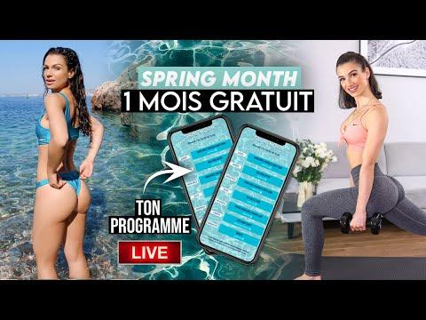 TON NOUVEAU PROGRAMME LIVE 1 MOIS GRATUIT !!! Spring Month commence !!!