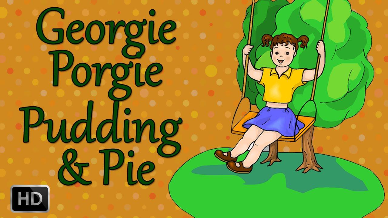 georgie porgie nursery rhyme starfall