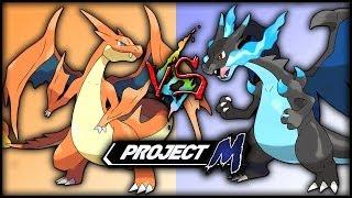 Project M: Mega Charizard Y VS Mega Charizard X