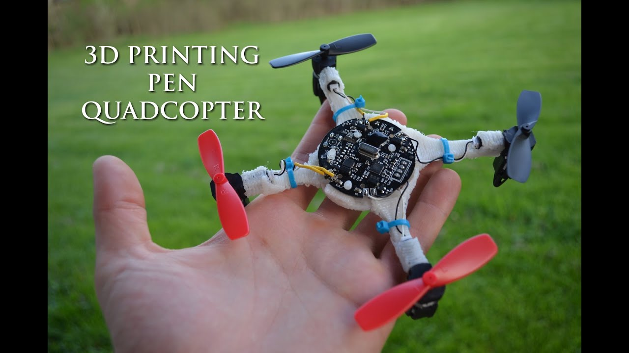 3D Printing Pen - Doodled Quadcopter - YouTube