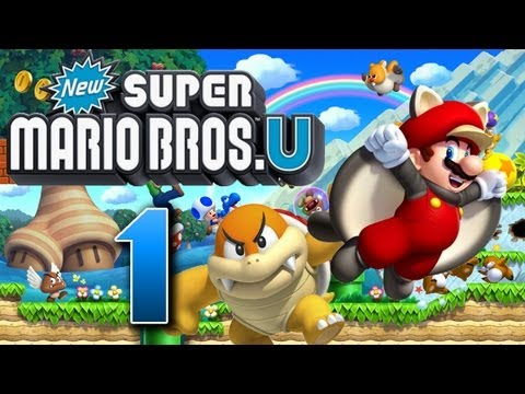 Let's Play New Super Mario Bros U Part 1: Super Mario Bros in High Definition, Let's Play New Super Mario Bros U [German/Blind/100%] Part 1: Super Mario Bros in High Definition Nintendos Wii U leitet eine neue Ära der Videospielgeschich...