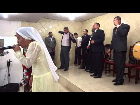 2013-01-12 AD da Glória de Deus: Encontro de vaso: Monique de Jesus:Corinhos de fogo