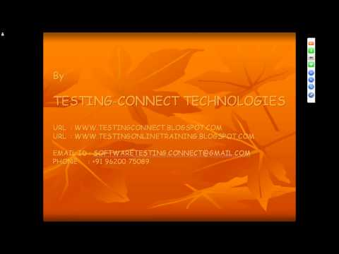 QTP TESTING TUTORIAL AUTOMATION TESTING TYPES OF AUTOMATION TOOLS