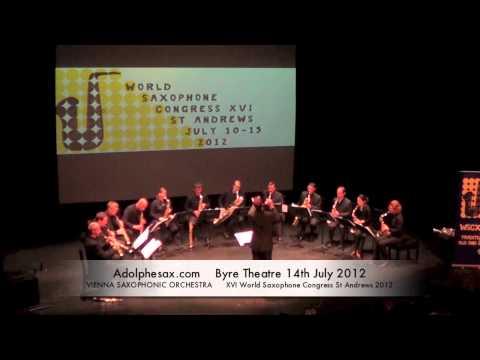 WSCXVI VIENNA SAXOPHONIC ORCHESTRA   The Sorcerer´s Aprentice by Paul Dukas