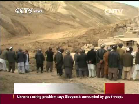Provincial official Over 2,100 are dead after landslide in Afghanistan   CCTV News   CCTV com Englis