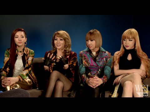 "K-Pop Group 2NE1 Discuss Breaking Into the U.S., All four members of K-Pop Group 2NE1 -- CL, Minzy, Dara and Bom -- talk with Wall Street Journal ""Business of Celebrity"" show host Lee Hawkins breaking into ..."