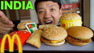 Trying McDonald's Breakfast & Lunch in INDIA