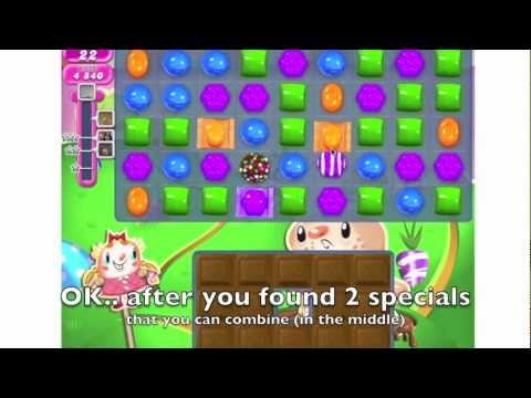 Candy Crush - HOW TO DO level 73 step by step - YouTube