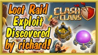 Clash Of Clans Loot Exploit Cheat Discovered By Richard
