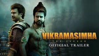 Vikramasimha – Official Trailer ft. Rajinikanth, Deepika Padukone
