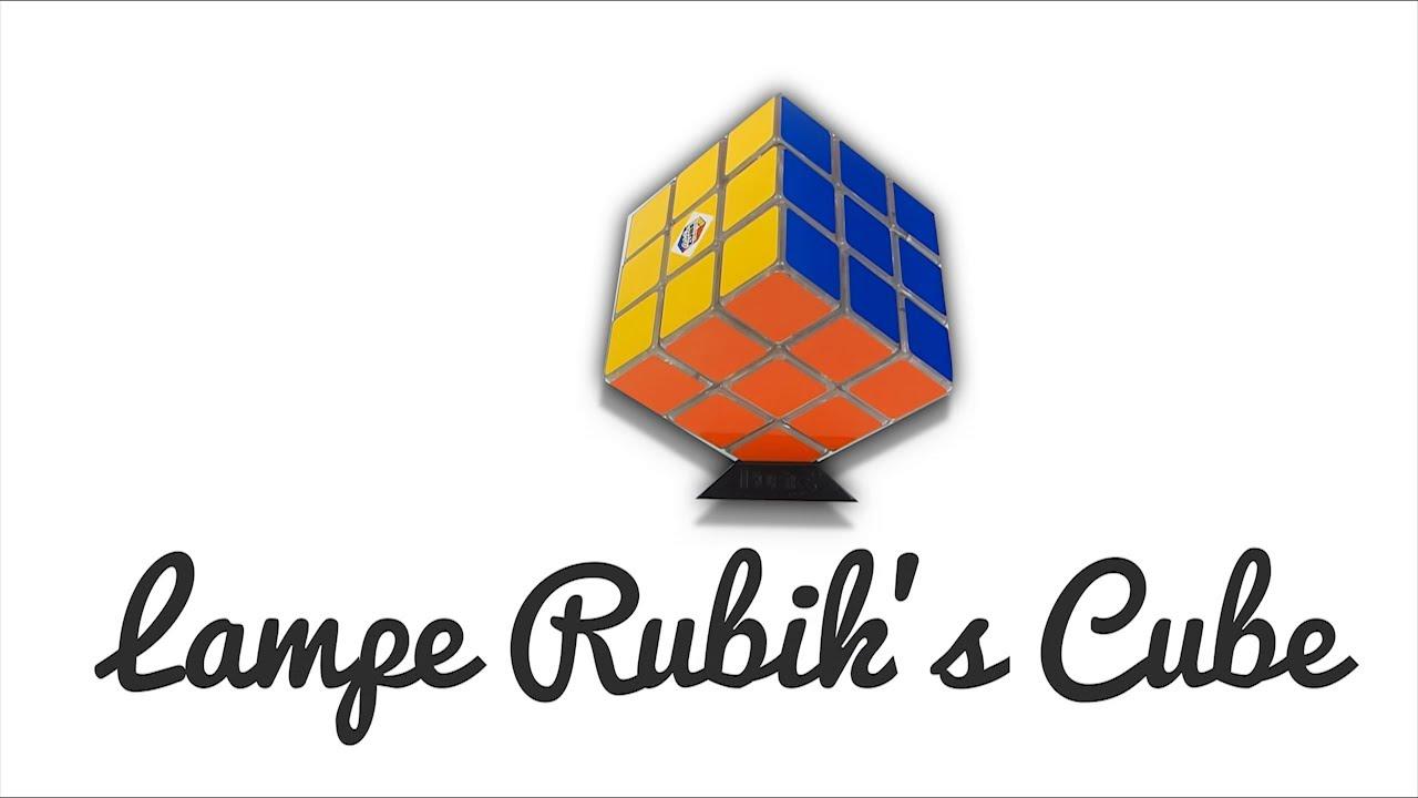 Une lampe ou un Rubik's Cube ? Les deux !