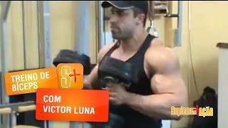 Treino de Bíceps com Victor Luna