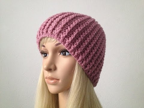 How to Crochet a Beanie Hat P#1 by ThePatterfamily