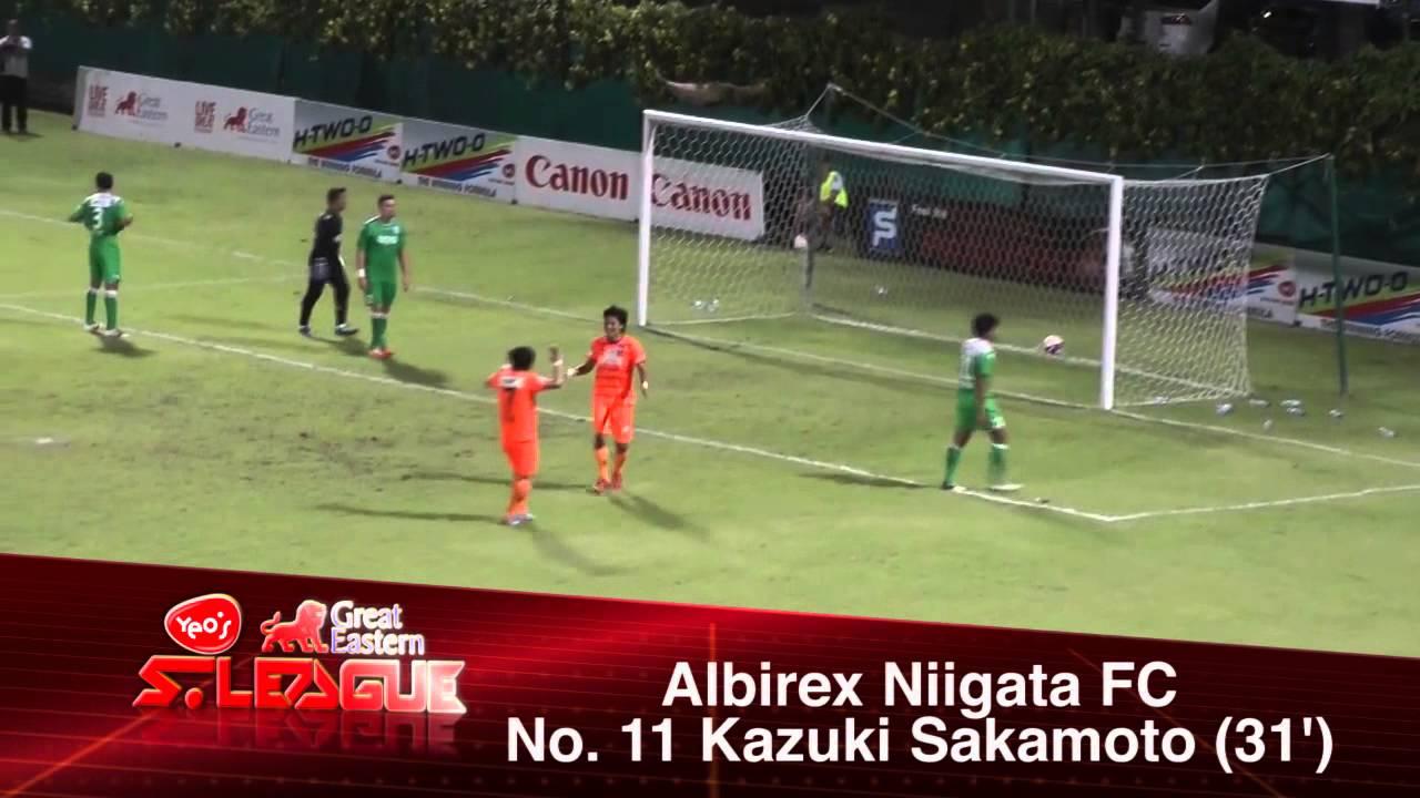 Albirex Niigata FC 7-1 Woodlands W.FC