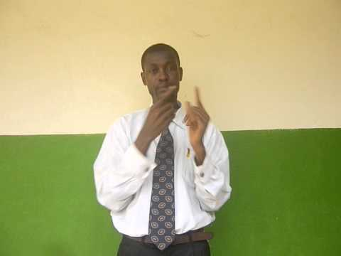 Invitation Sign Language Workshop Abidjan 2014 (Ivorian ASL)