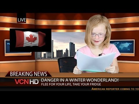Tonight's News Featuring Adorable Kids