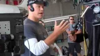 Matt Damon Loses It and Flips out at Adrian Grenier while filming!