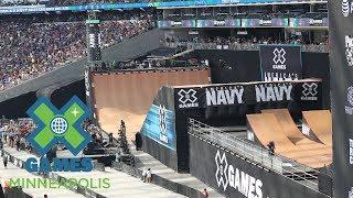 FULL BROADCAST: America's Navy Skateboard Big Air Final | X Games Minneapolis 2017