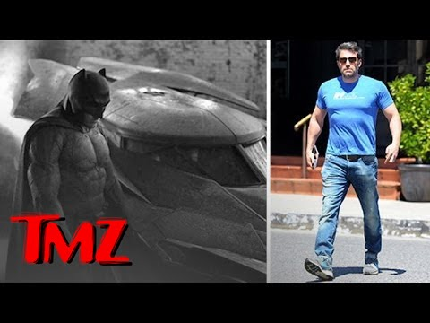 Ben Affleck is totally jacked!