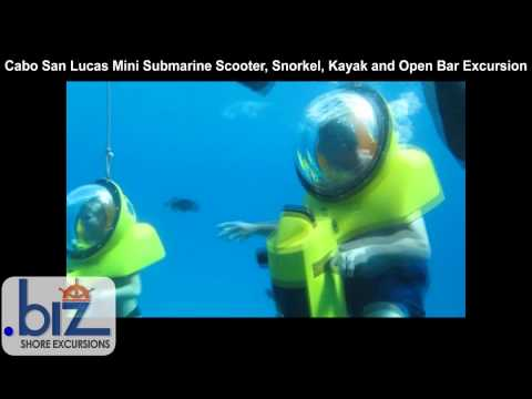 Cabo San Lucas Mini Submarine Scooter, Snorkel, Kayak and Open Bar Excursion