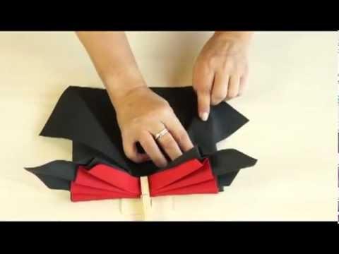 AVA pliage de serviette: le papillon
