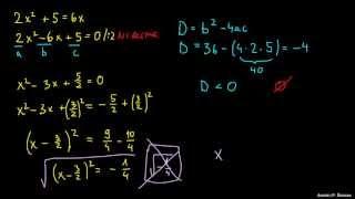 Iskanje ničel v kvadratni enačbi 3