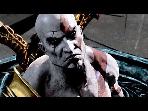 God of War III All Cutscenes / Cinematics Kratos Movie