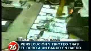 Persecución Y Tiroteo Tras Robo A Banco En La Tablada, La