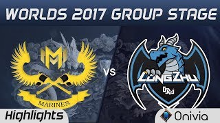 GAM vs LZ Highlights World Championship 2017 Group Stage Gigabyte Marines vs Longzhu by Onivia