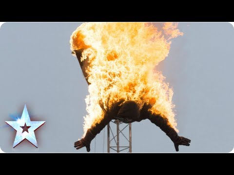 La Quebrada High Divers falling with style | Week 6 Auditions | Britain's Got Talent 2013