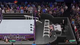 WWE 2K15 How To Get On The Announce Table Bug