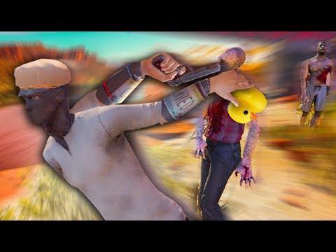 Naruto Running in VR [Funny Moments] Arizona Sunshine