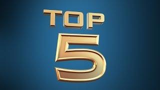 Top 5 - La classifica per presenze integrali