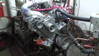 Dyno Test On AMC Engine 401CID With Supercharger V 7 YSI