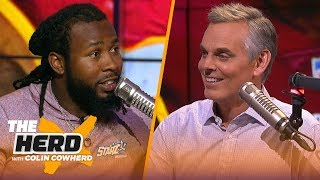 Josh Norman talks Aaron Rodgers' greatness, Dwayne Haskins & running with the bulls   NFL   THE HERD