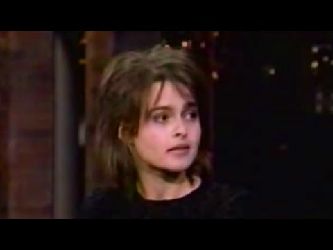 Helena Bonham Carter on David Letterman