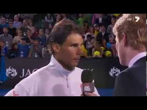 Rafael Nadal Answers A Question About His Girlfriend Maria Francisca Perello