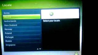 XBOX360 Reset Factory Setting