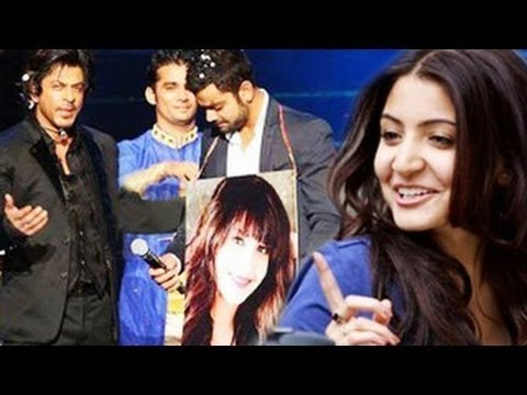 Shahrukh Khan reveals Virat Kohli and Anushka Sharma's love affair on IPL 7 opening ceremony!-review