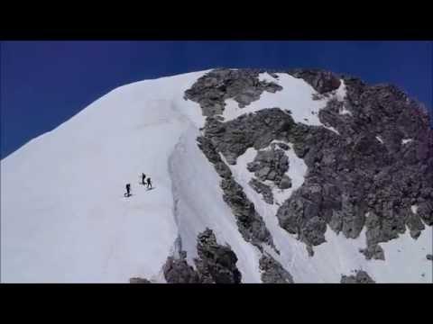 Ascensión y descenso con esquís de la Tusse de Remuñe